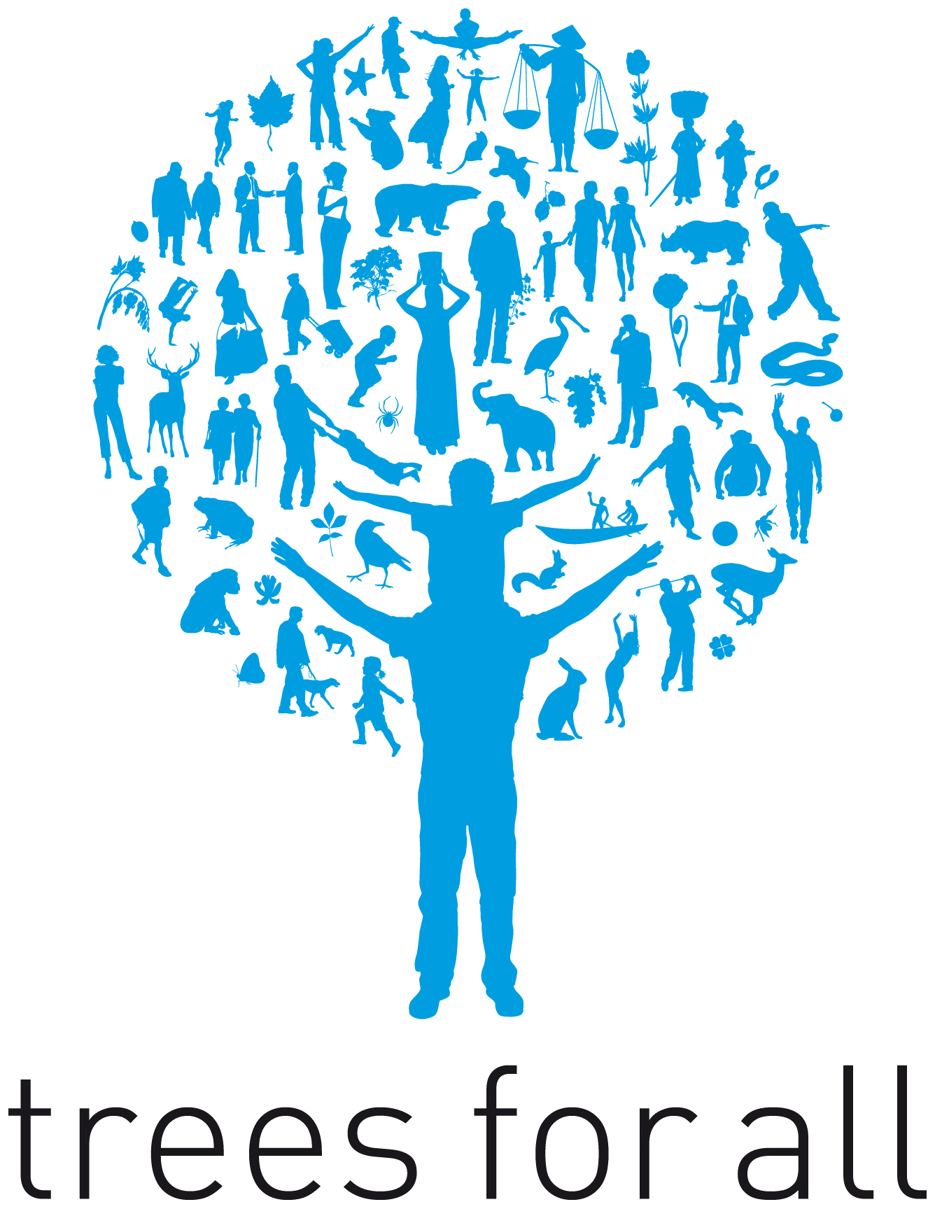 Trees for All logo